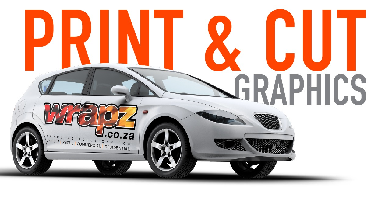 Car Wrap - print and cut graphics