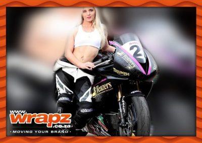 Superbike custom graphics
