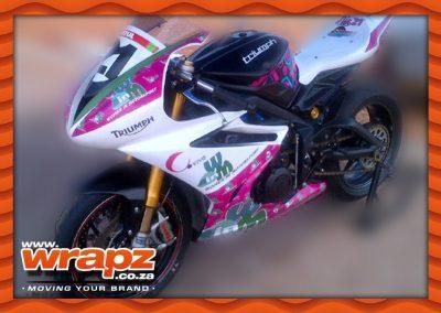 Superbike custom graphic